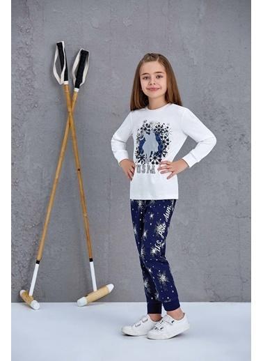 U.S. Polo Assn. Erkek Çocuk Pijama Takımı Krem
